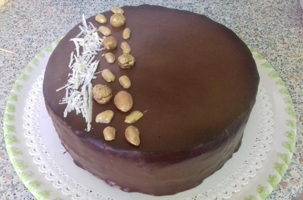 Csupamogyoró torta